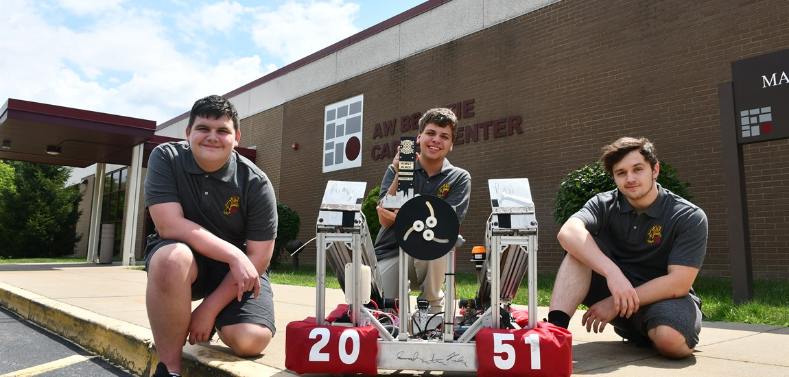A.W. Beattie FIRST Robotics team wins Steel City Showdown tournament